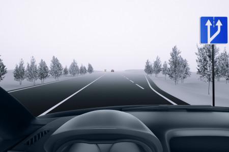 Дорога расширяется. Обязаны ли вы перестроиться правее?