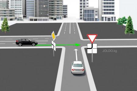 Главная дорога меняет направление