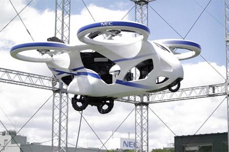 В Японии испытали пассажирский квадрокоптер