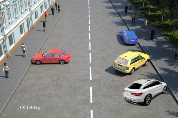 Парковка елочкой - можно или нет?