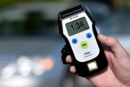 Украинская полиция может внедрить экспресс-проверку водителей на трезвость