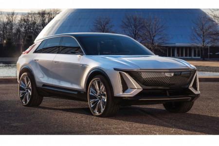Cadillac показал электрический кроссовер Lyriq