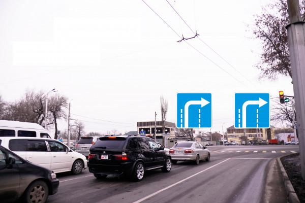 Разрешенный поворот с двух полос. Как проехать перекресток?