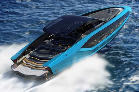 Lamborghini представила 19-метровую яхту с двумя V12